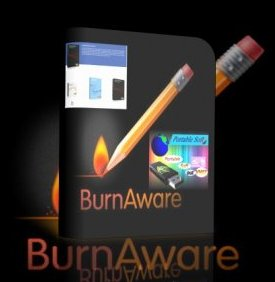 запись CD DVD Blu-Ray BurnAware Professional